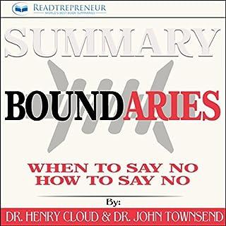 Summary: Boundaries cover art