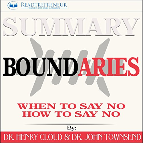 Summary: Boundaries audiobook cover art