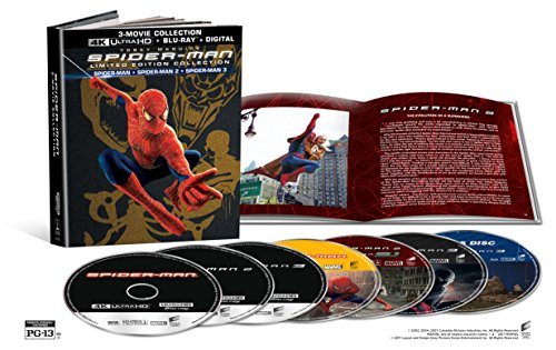 Spider-Man 3-Movie Limited Edition Collection (4K UHD + Blu-ray + Digital) $29.96 @ Amazon