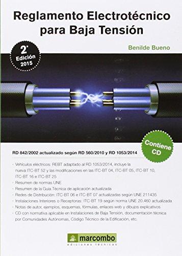 REGLAMENTO ELECTROTECNICO PARA BAJA TENSION (Spanish Edition)