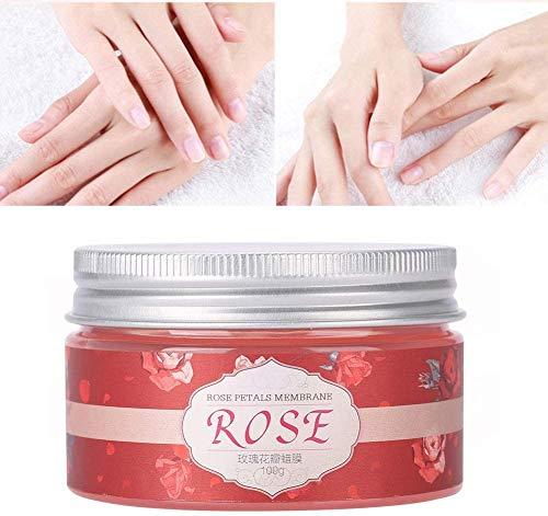 100g Hand huidverzorging Exfoliating Moisture Peeling Verwijder Hard Dead Skin Mask, natuurlijke Rose Hand Mask Wax for de droge, Aging, Gebarsten Handen Intense Voeding for de huid Hand Cream Mask ls