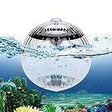 SANBLOGAN Luces solares flotantes sumergibles en forma de bola...