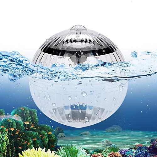SANBLOGAN Luces solares flotantes sumergibles en forma de bola para piscina, luz sumergible, luz flotante para regalo, fiesta, jacuzzi, spa, acuario, decoración de jardín