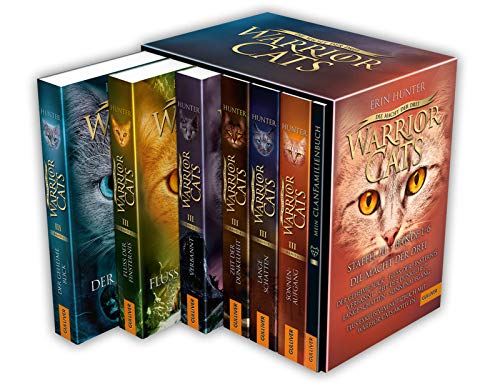 Warrior Cats. Die Macht der drei. Bände 1-6: Warrior Cats, Staffel III, Bände 1-6