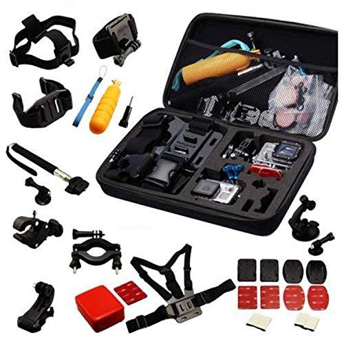 Navitech 30-en-1 kit d'accessoires compatible avec caméras d'action compatible avec Garmin VIRB Ultra 30 Action Camera | Garmin Virb X & Virb XE