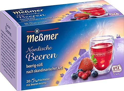 Meßmer Ländertee | Nordische Beeren Tee | 20 Teebeutel | Glutenfrei | Laktosefrei | Vegan