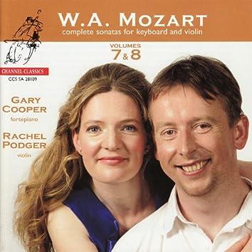 Mozart: Complete Sonatas for Keyboard and Violin, Vols. 7 & 8