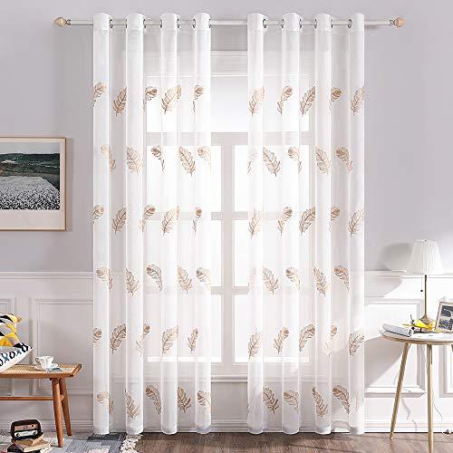 cortinas habitacion matrimonio blanca translucida
