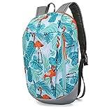 Daypack Rucksack, 40x22x11cm. Sportrucksack, Reiserucksack, leicht und robust. Tolles Geschenk für Kinder und Erwachsene (Flamingo)