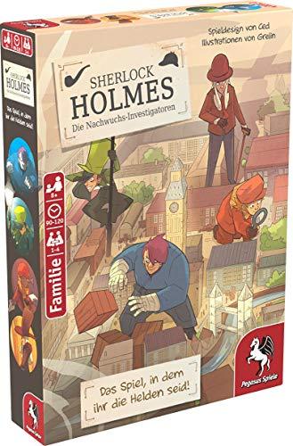 Pegasus Spiele 36022G - Sherlock Holmes - Die Nachwuchs-Investigatoren