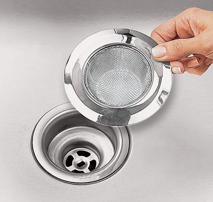 4.5 inch Stainless Steel Kitchen Sink Strainer