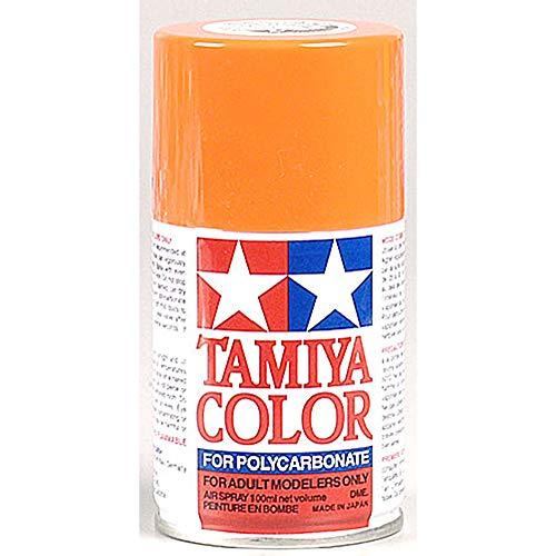 Tamiya America, Inc Polycarbonate PS-7 Orange, Spray 100 ml, TAM86007