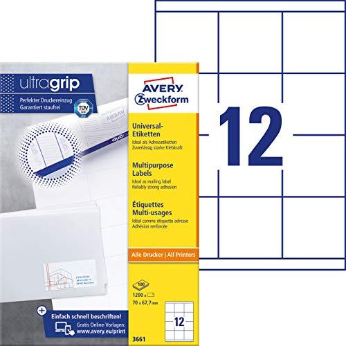 Kores Universal Etiketten weiß 48,5 x 25 mm 25 Blatt 1000 Etiketten Labels Dru
