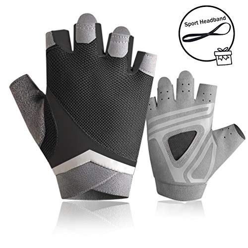 nononfish Gym Gloves for Women Grip Gloves Workout for Home Workouts Dumbbell, Power Rope,Hammer, Cross Training, Barbells
