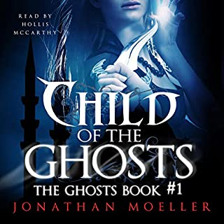 Child of the Ghosts audiobook cover art