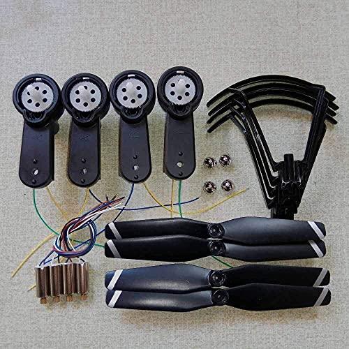 Accessori per droni, per SG900S X192 SG900 X196 F196 RC Drone Ricambi Motori Motori Pieghevoli Braccio ad alette Include ingranaggi LED Asse Lame Kit coprilama Quadricotteri Accessori (Colore: SG900)