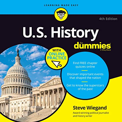 『U.S. History For Dummies, 4th Edition』のカバーアート