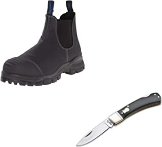 Men's Work and Safety Steel Toe Boot (990) w/Free Boker Plus Pocket