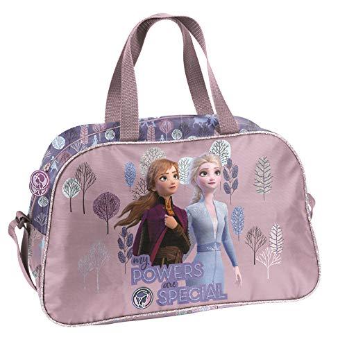 Ragusa-Trade Disney Frozen – La Reina del Hielo Anna y Elsa (Dog), bolsa de deporte para niña, rosa/violeta, 40 x 25 x…