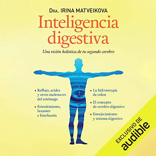 Inteligencia Digestiva [Digestive Intelligence] audiobook cover art
