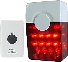 リーベックス(Revex) ワイヤレス チャイム Xシリーズ 送受信機セット 防犯 LED 点滅 呼び出しピカフラッシュセット XL3010