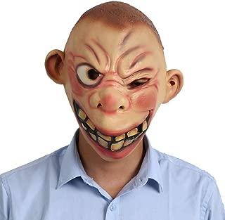 WNGCAR AU Halloween Ball face mask Half mask Performance Performance Prop Big Eye mask