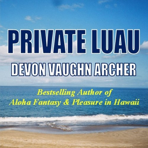 Private Luau audiobook cover art