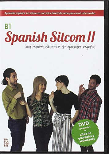 Spanish sitcom B1 : an entertaining new way to learn spanish: Nivel B1 DVD + Book (Spanish Sitcom. Serie TV en DVD., Band 3)