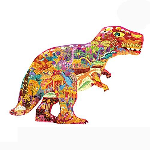BNHXT Rompecabezas Dinosaurios Jurassic World, Juguetes Educativos para Niños, Juegos Intelectuales, Un Buen Socio para Interacción Entre Padres E Hijos, 280 Piezas