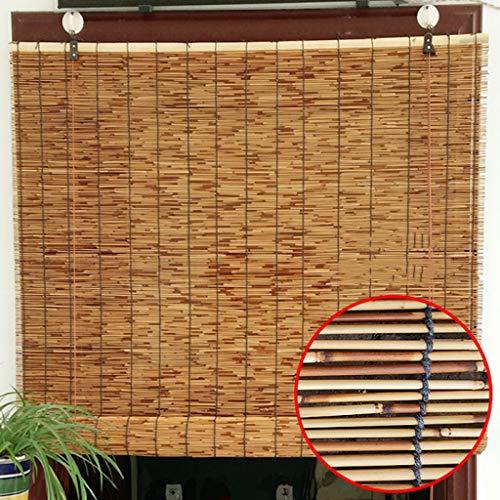 Bambusvorhang, Teehaus/Decke Retro Stroh Unkraut Schilf Vorhang, Sonnenschirm/atmungsaktiv/feuchtigkeitsbeständig (anpassbar)