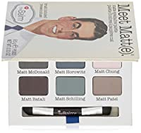 The Balm Cosmetics 9-Color Meet Matt Eyeshadow Palette [並行輸入品]