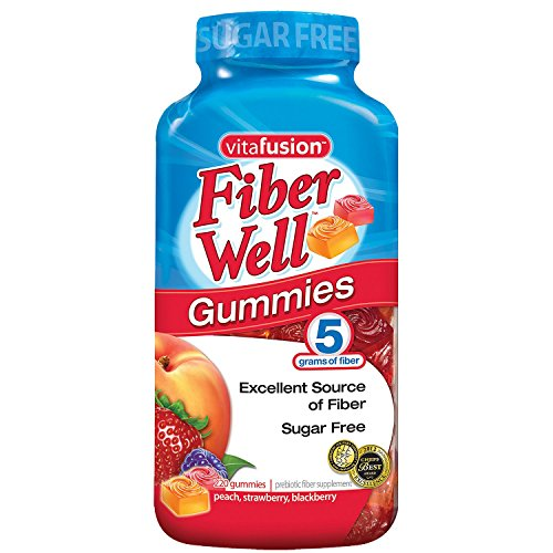 Vitafusion Fiber Gummies, 220Count'Sugar Free' (Pack of 2)