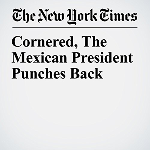 Cornered, the Mexican President Punches Back copertina