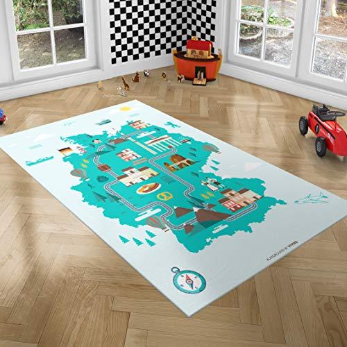 Alfombras Infantiles Grandes Acolchadas alfombras infantiles  Marca PlayGround