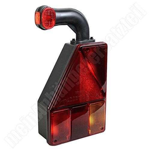 Aspöck Earpoint 1 Rückleuchte Rücklicht LINKS für Pkw Anhänger Autotransporter L