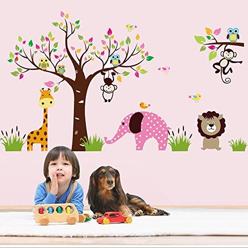 Autocollants muraux amovibles pour décorer les chambres d'enfants RF1000