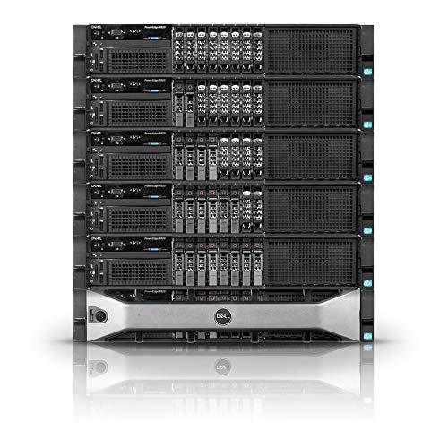Dell PowerEdge R820 Server | 4xE5-4620 32 Cores | 64GB | H310 | 2X 300GB (Renewed)