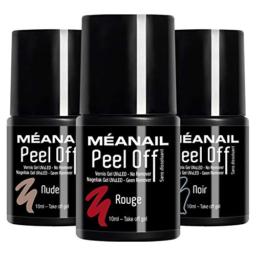 Set Esmaltes Uñas Gel UV LED 3 Colores