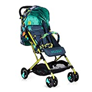 Suitable from birth to max weight of 25kg, lets your toddler use it for even longer Lightweight, sturdy aluminium frame New-born recline Lightweight waterproof ripstop fabric on seat Lockable swivel front wheels for quick manoeuvres