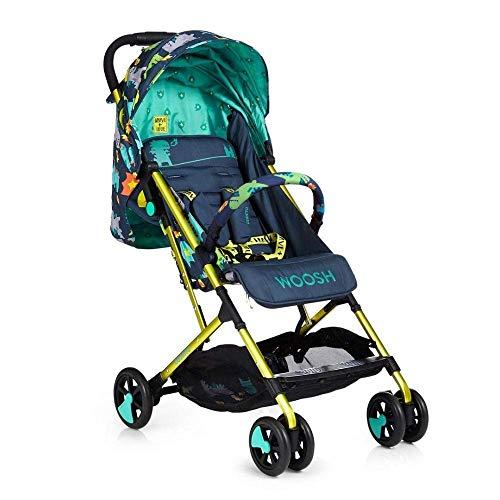 Cosatto Woosh 2 Pushchair – Lightweight Stroller From Birth to 25kg - One Hand Easy Fold, Compact (Dragon Kingdom)