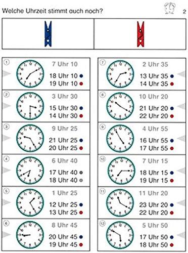 Wie viel Uhr ist es?: 3. und 4. Klasse (Bergedorfer® Colorclips)