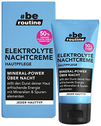 #be routine Elektrolyte Nachtcreme, 50 g