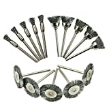 UKCOCO 30pcs Ruote abrasive Lucidatura Lucidante Set Kit accessori per trapano per utensil...