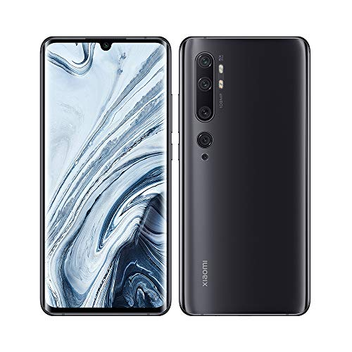 "Xiaomi Mi Note 10 Smartphone 6GB 128GB 6.47"" 3D AMOLED 5260mAh 108MP NFC Negro/Midnight Black"