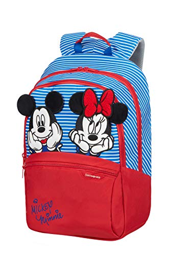 Samsonite Disney Ultimate 2.0 - Kinderrucksack M, 42 cm, 16 L, Mehrfarbig (Minnie/Mickey Stripes)