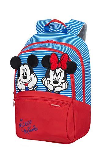 Samsonite Disney Ultimate 2.0 - Zainetto per Bambini M, 42 cm, 16 L, Multicolore (Minnie/Mickey Stripes)