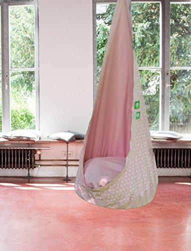 Hängesessel Hängehöhle RelaxMe für Kinder - Farbe: Pink, Markenware von GI Design, Neu!