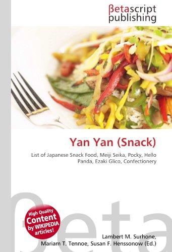 Yan Yan (Snack): List of Japanese Snack Food, Meiji Seika, Pocky, Hello Panda, Ezaki Glico, Confectionery