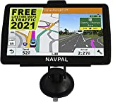 SLIMLINE SAT NAV, (7 INCH) with 2020 UK EUROPE EDITION + FREE Lifetime Updates [100% no hidden fees], GPS Navigation for Car Truck Motorhome, Includes Postcodes, Speed Cam Alerts, Lane Guidance & POI
