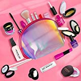 BFYWB My First Princess Make Up Kit - Kids Makeup Set Washable Pretend Makeup for Girls - These Makeup Toys for Girls Play Dress Up Best Toys Gifts for 3-6 Year Old Gilrs Toddlers Age 3 4 5 6 Girls